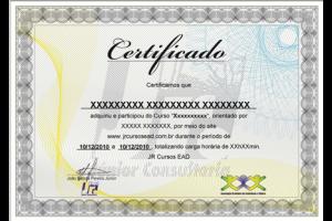 certificado EAD